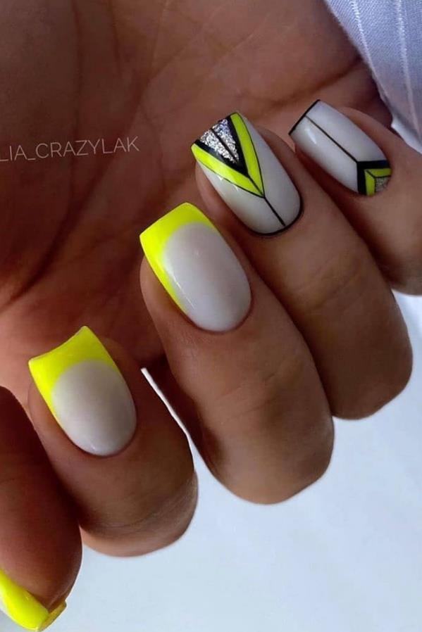French Nail Design—- As Always Elegant And Simple