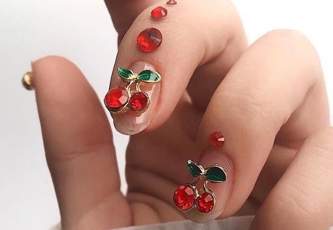 60 Beautiful Short Acrylic Natural Nails Designs In Spring And Summer 2020