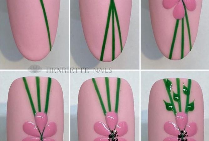 Acrylic False Almond Nails Designs Art In Summer With Fresh And Vibrant