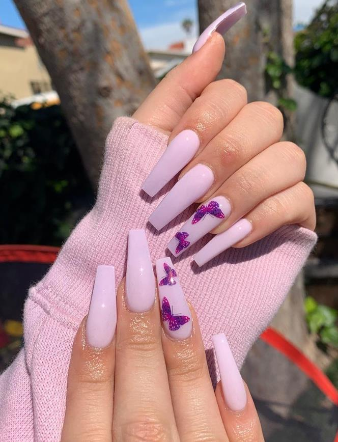 Dancing On The Fingertips In The Summer 2020——Butterfly Nails Art Designs