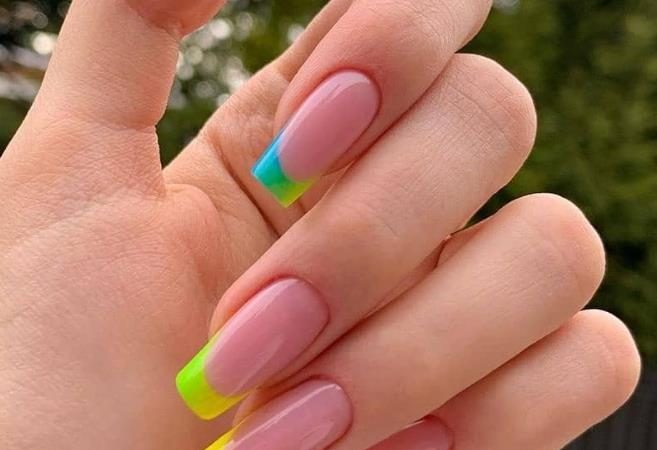 60 Beautiful Acrylic Pink Coffin Nails Art Ideas For Summer