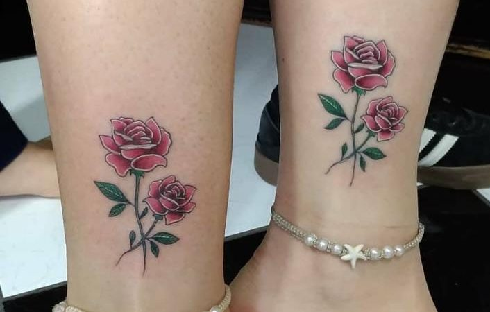 Female Rose Tattoo Design  , Beauty Is A Gesture