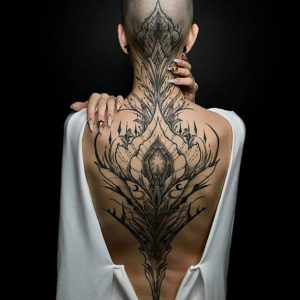 Tattoo | Sexy And Enchanting Back Tattoo Idea And Design
