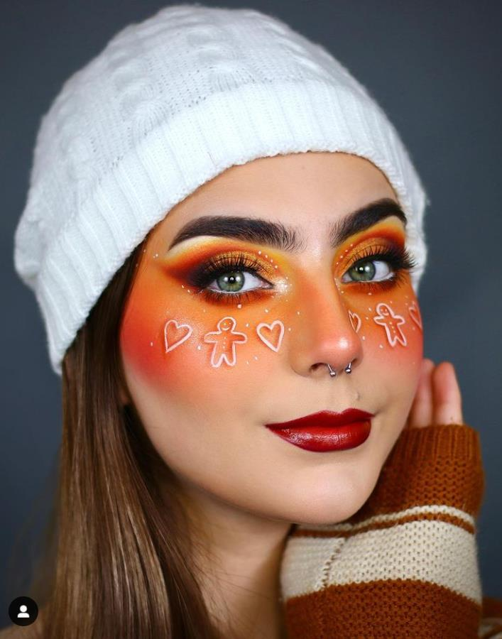 The Most Popular Christmas Make-up in 2020 Makes you a Goddess of Christmas!