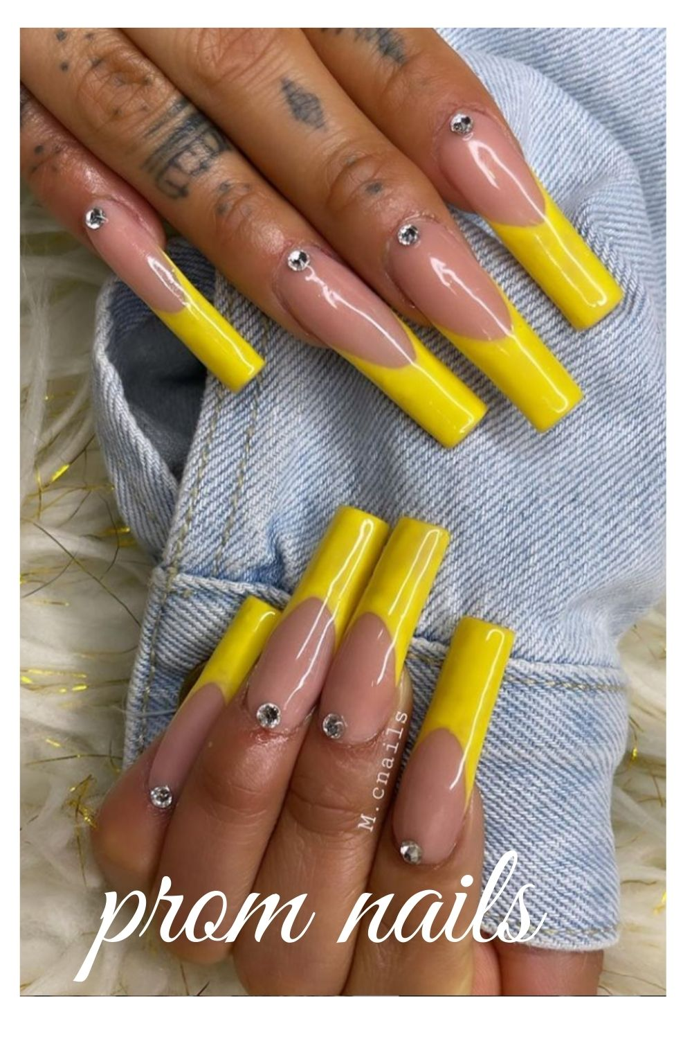 35 Different Shape Nail Art Designs – Amazing Prom Nail Design