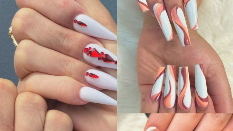41 White Nails Art Designs That Are Always Popular