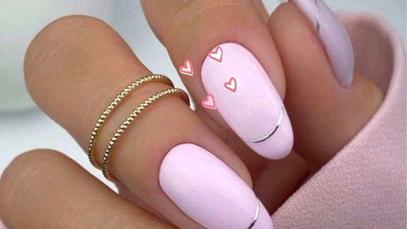 38 Stunning Almond Shape Nail Design for Summer Nails