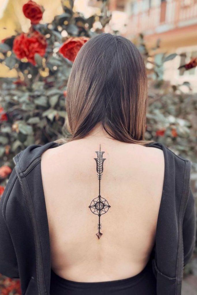 Sexy Back Tattoo Design Ideas for Women