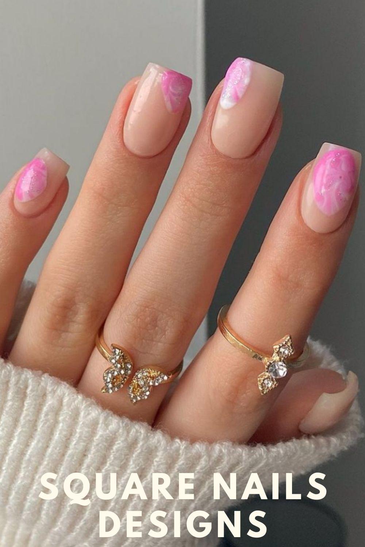 Unique short nails designs