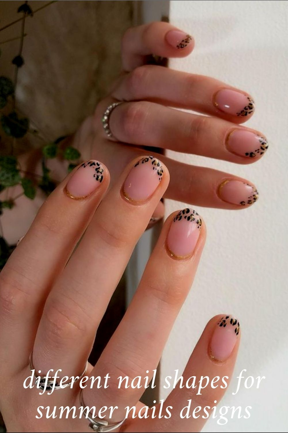 Cute Summer Nails Design with Acrylic Nail Shape in 2021