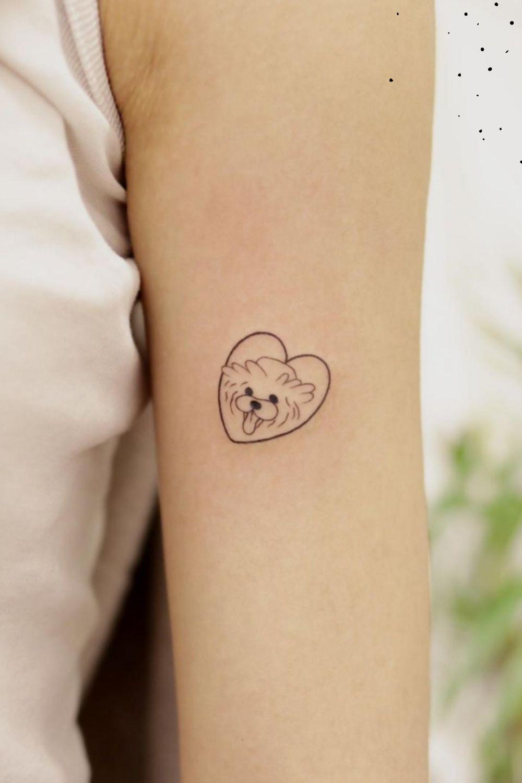 Dog small tattoo designs