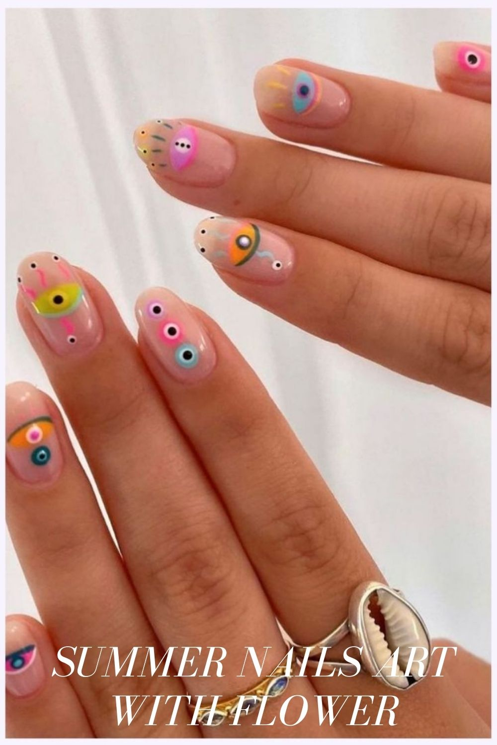 Simple summer nails designs