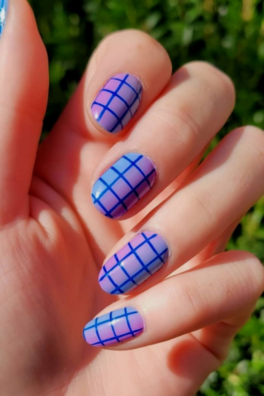 Easy short nails