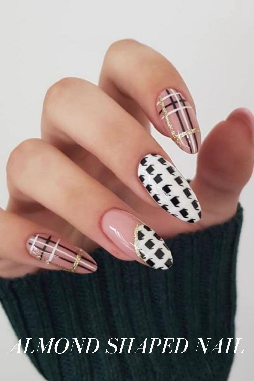 Press on Transparent Almond Nails