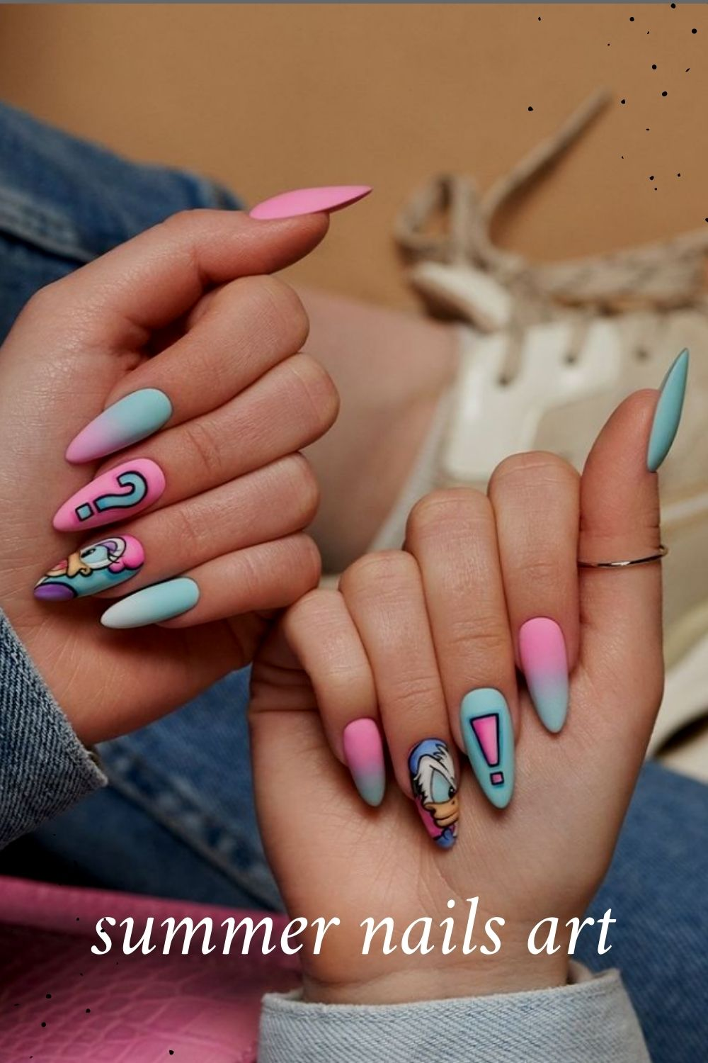 35 Trendy Summer Nails Art Ideas You Should Try in 2021