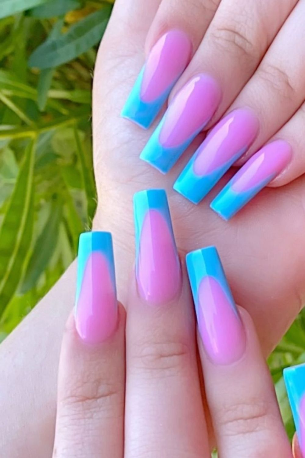 45 Stunning Coffin Nails Design Ideas For Summer nails 2021
