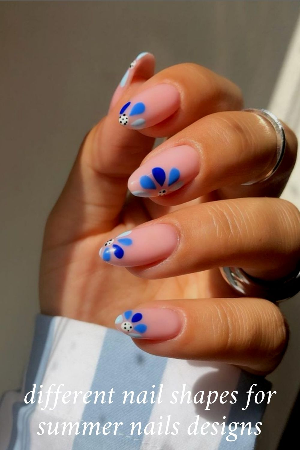 50 Cute Summer Nails Design with Acrylic Nail Shape in 2021