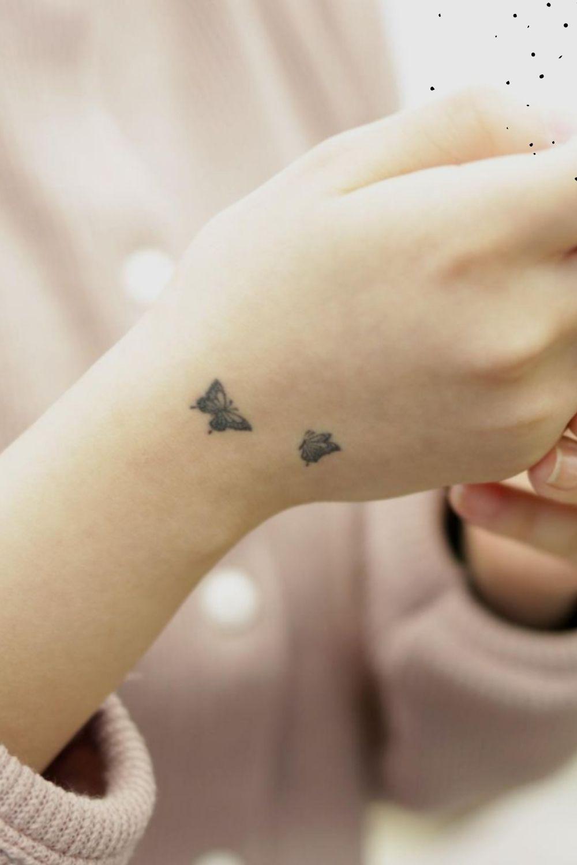 Butterfly Small Tattoos art