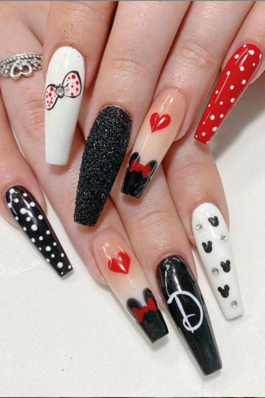 Cute coffin nail