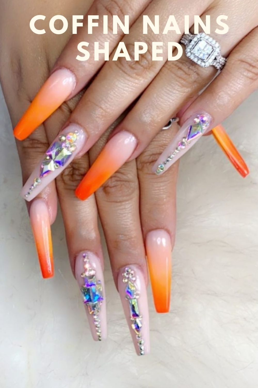Classy coffin nails ideas