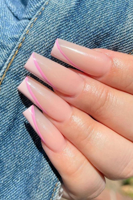 Elegant, graded coffin nail
