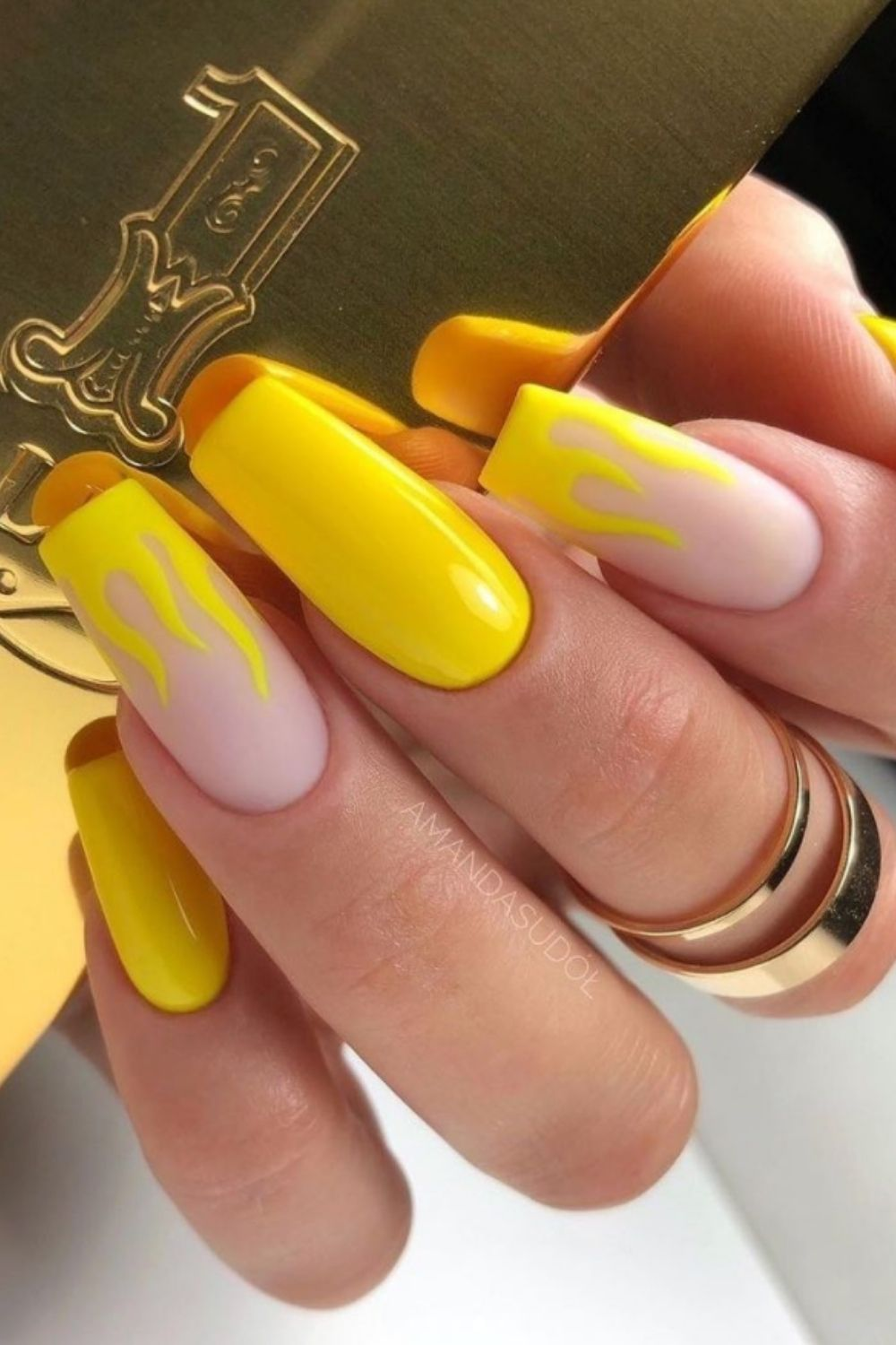 Yellow coffin nails