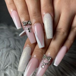 45 Aesthetic Coffin Nails Art Design You Must Try in the summer  2021