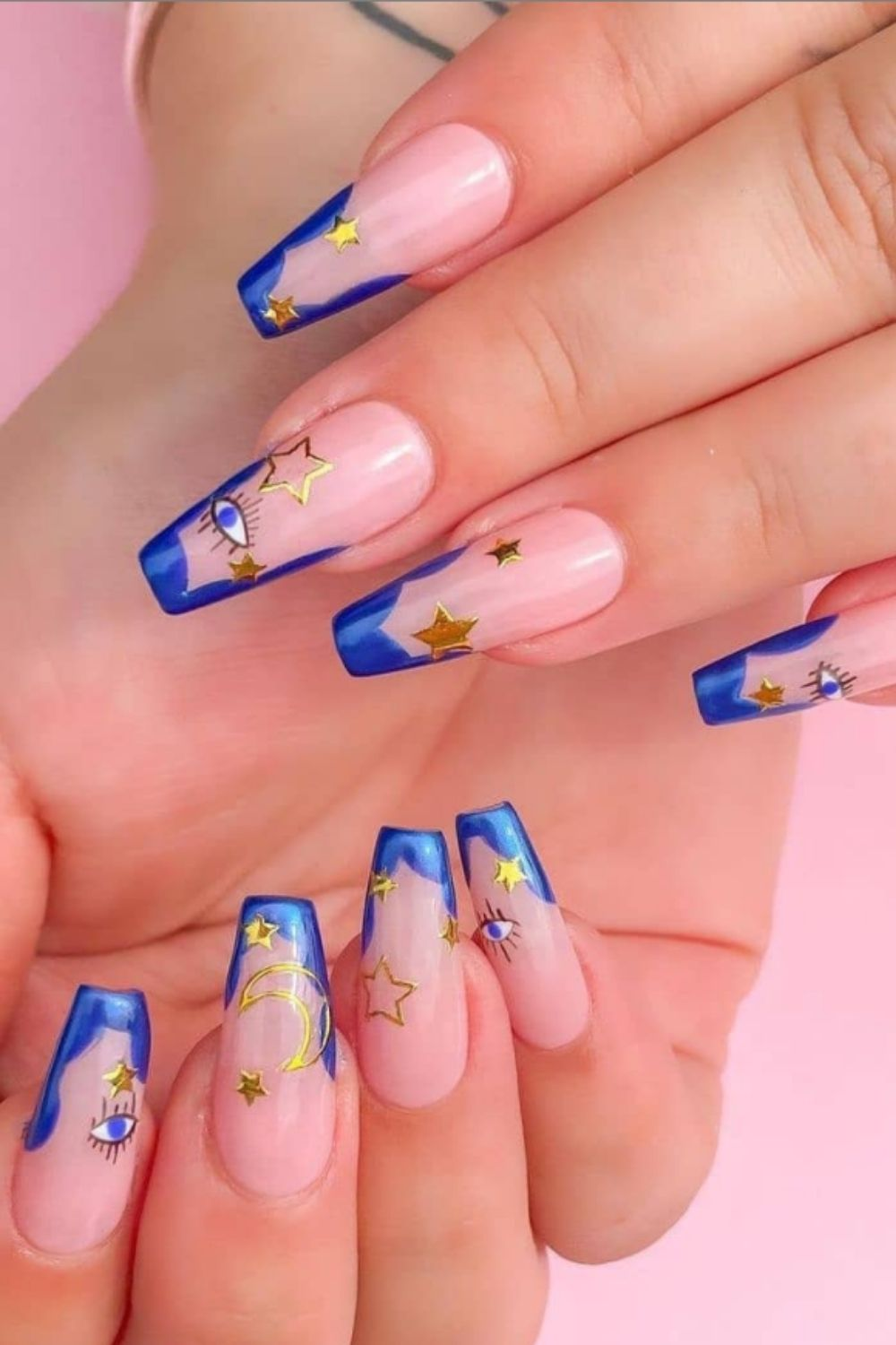 51 Crazy-Gorgeous Nail Ideas for Coffin-Shaped Nail Designs