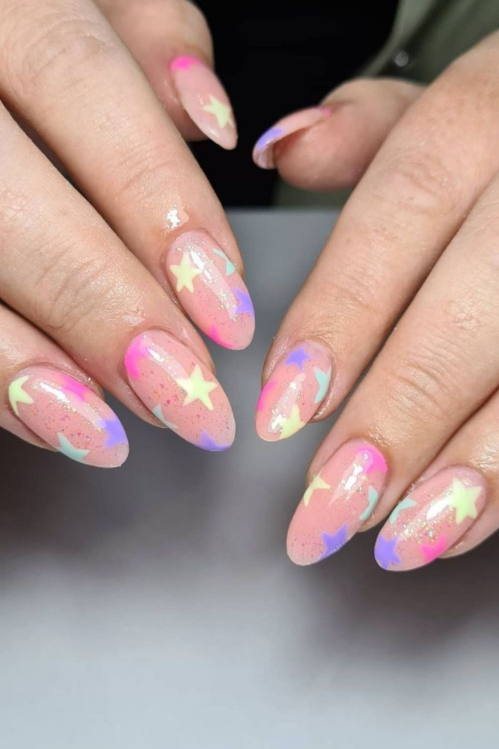 Pastel nails for summer acrylic nails ideas