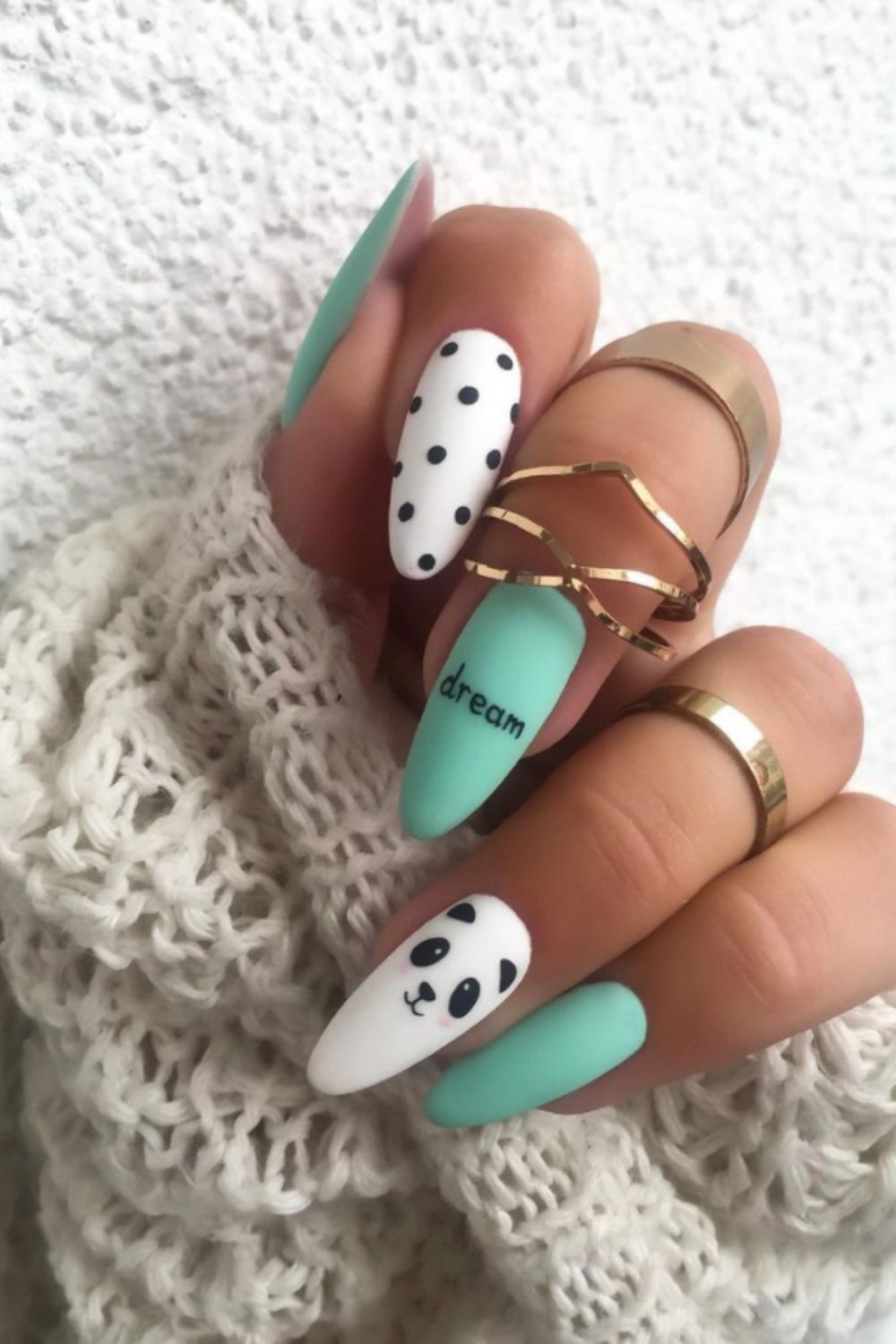 Bright nails for summer