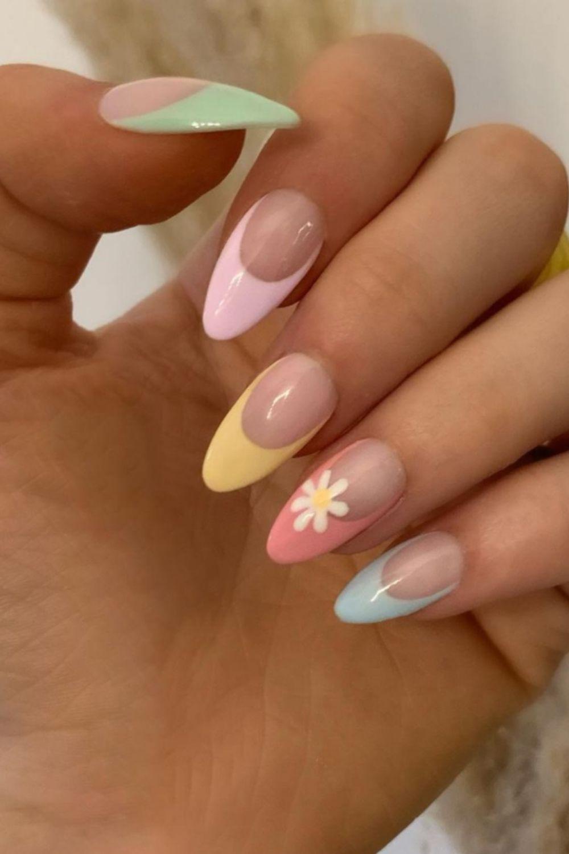 Cute summer nails art designs