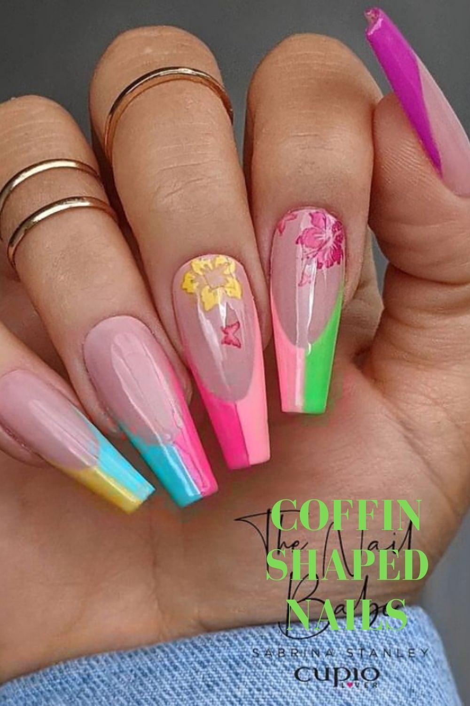 Pastel nails for summer nails