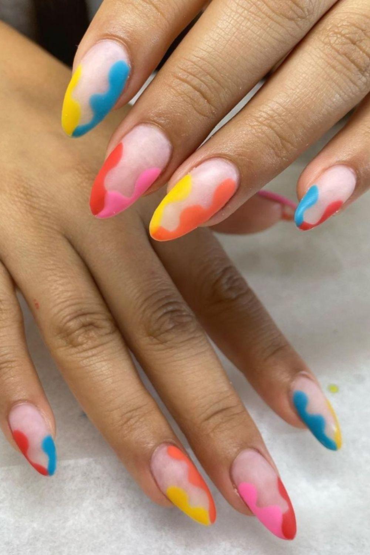 Pastel nails art designs