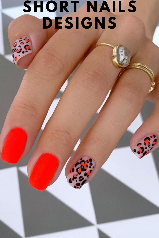 Fun summer nails art