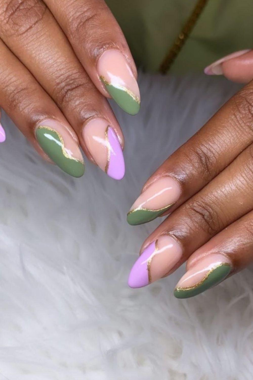 Pride nails designs