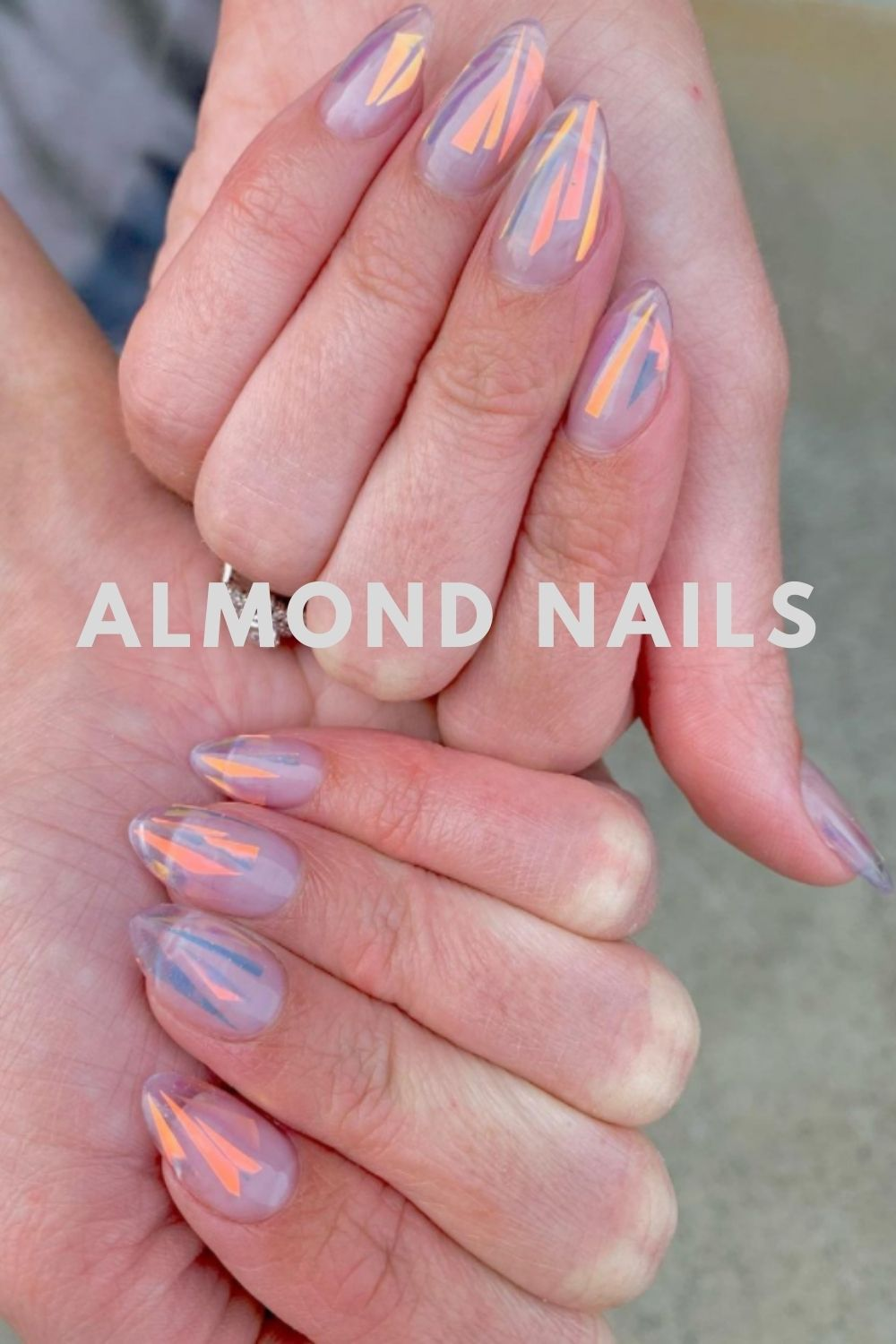 Almond-Shaped Nails Art for Autumn Nails 2021