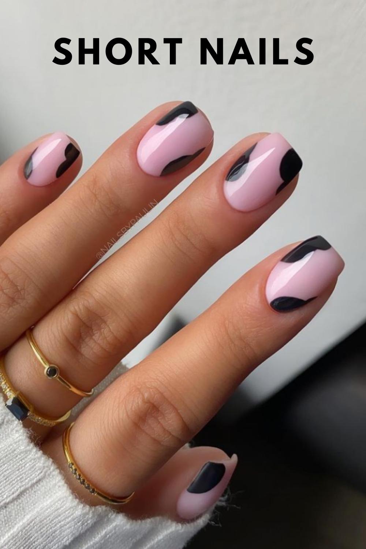 Cute short nail art designs