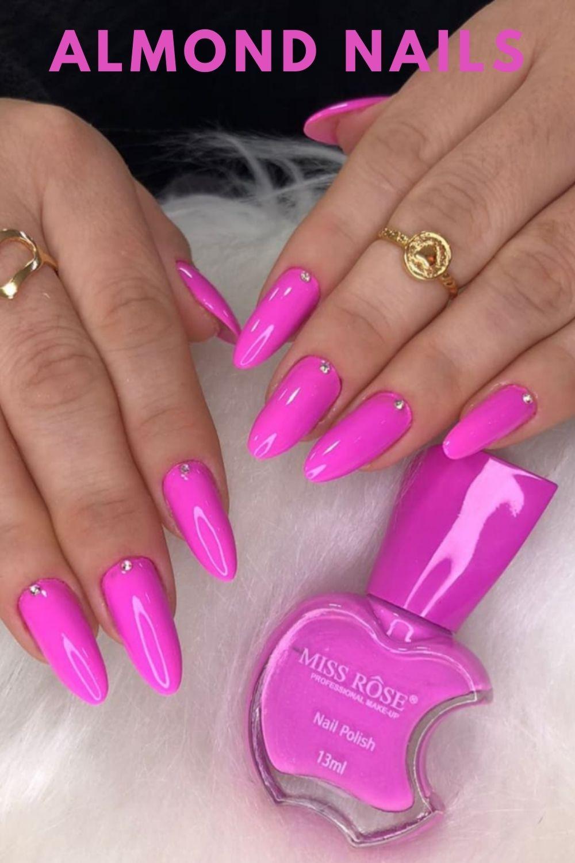 Classy almond nails ideas