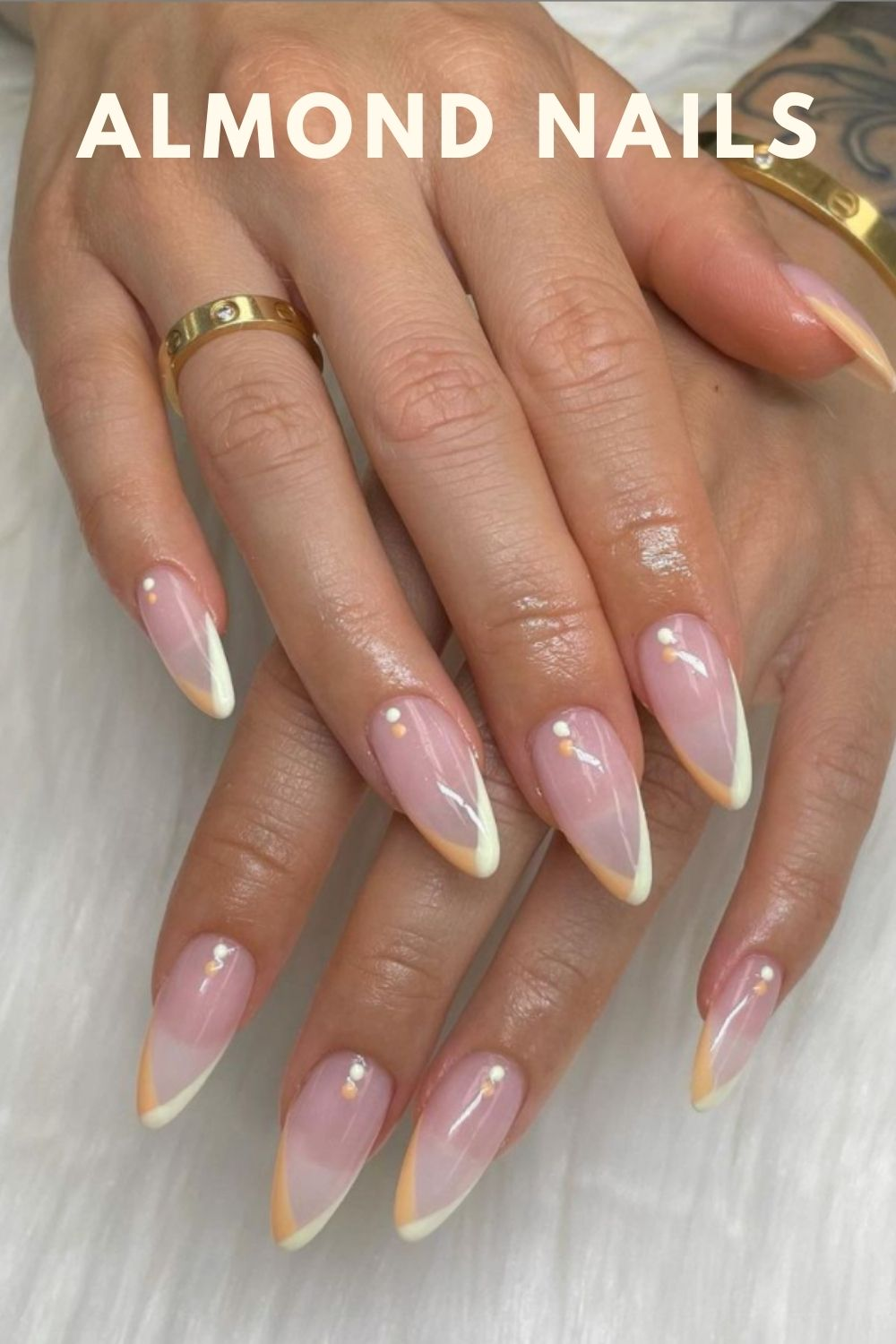 Almond-Shaped Nails  for Autumn Nails 2021