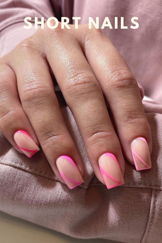 stunning short nail art designs for autumn nail designs 2021
