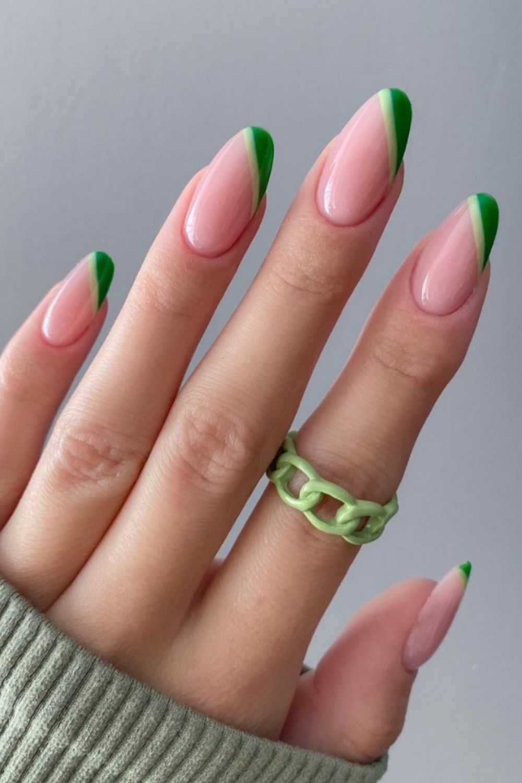 Cute almond nails designs