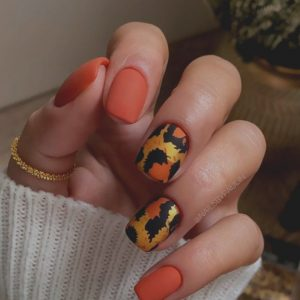 40 Beautiful Short Acrylic Square Nails Design Ideas for 2021!