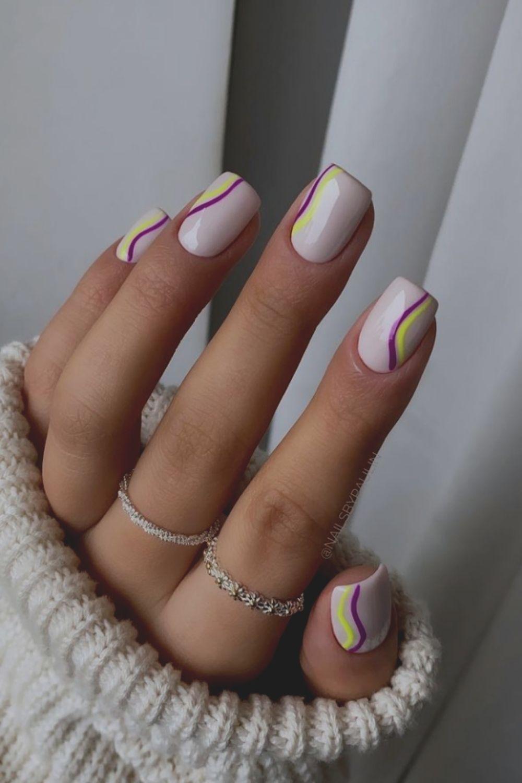 Square Acrylic Nails Design 2021
