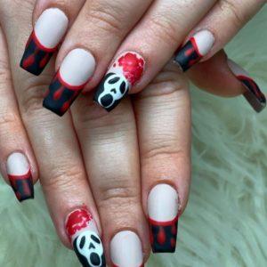 48 Spooky & Stylish Halloween Nail Art Designs You'll Love 2021
