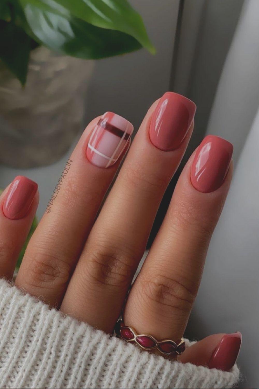 Fall square nail